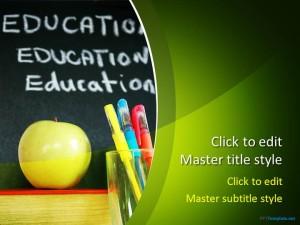 Free School PPT Template