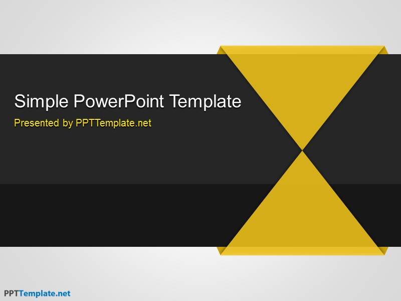 free simple ppt template, Powerpoint