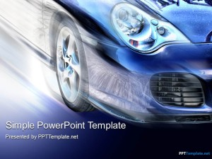 Car Speed PPT Template