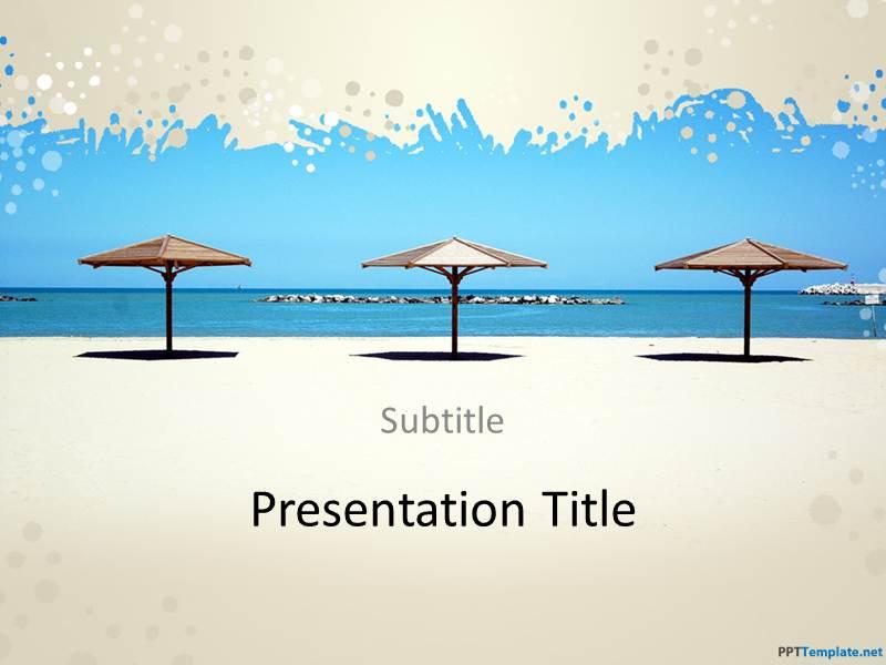 Free Brazil PPT Template – Summer Powerpoint Template