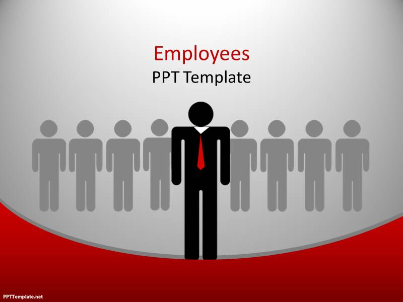 free employees ppt template