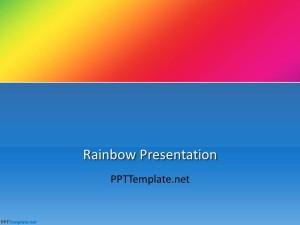 Free Rainbow PPT Template