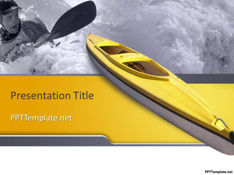 Free Boating Ppt Template