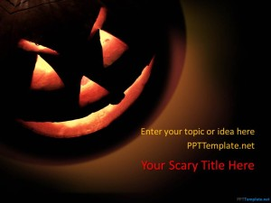 Free Halloween PPT Template