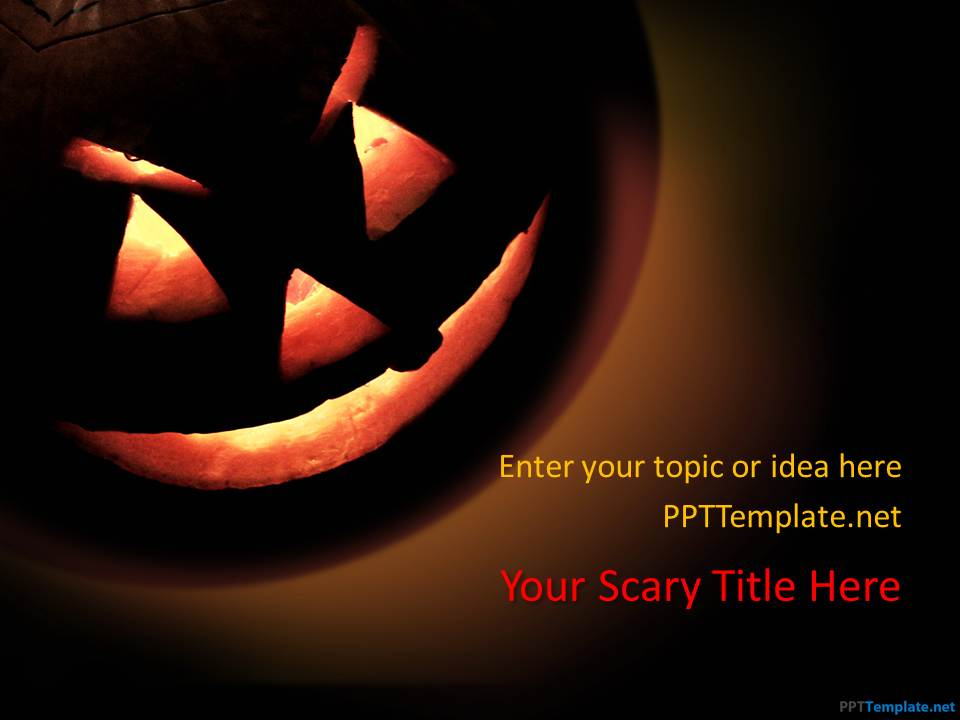 free halloween ppt template, Powerpoint