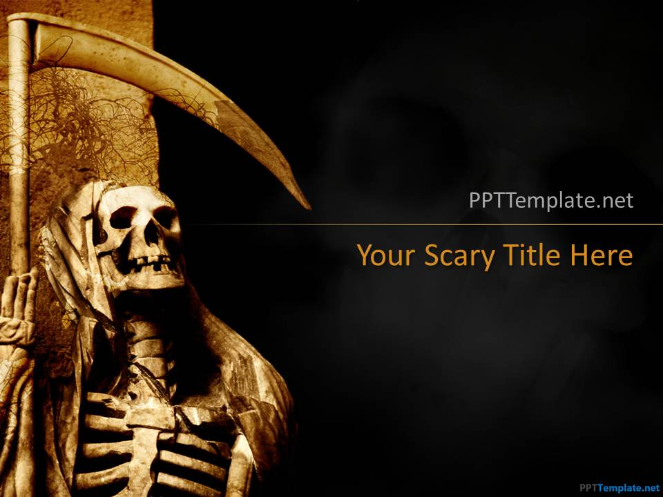 Free halloween ppt template for Halloween powerpoint templates