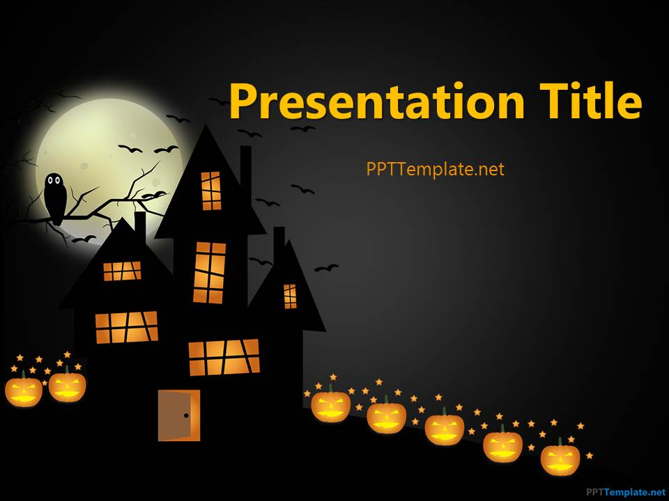 free halloween frankenstein ppt template