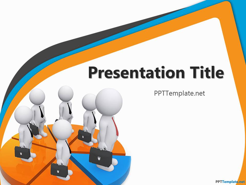free network ppt template, Powerpoint