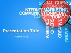 Marketing PPT Template Free