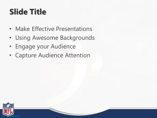 NFL PPT Template Slide Design