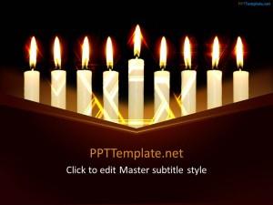 Free Hanukkah PPT Template