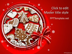Free Christmas Baking PPT Template