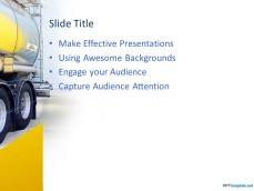 Free Truck PowerPoint Template