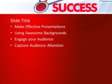 Internal Success PowerPoint Template