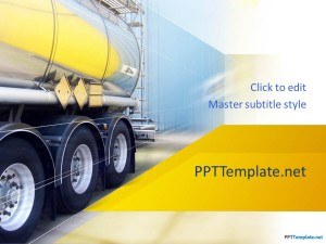 Free Truck PPT Template
