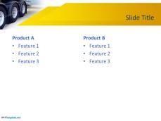 Truck PowerPoint Slide Design for Presentations