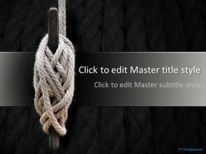 Free Knot PPT Template