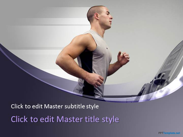 Free Fitness PPT Template