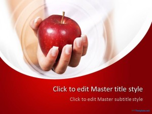 Free Apple PPT Template