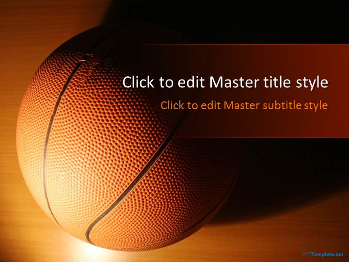 Free Basketball Ppt Template