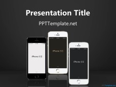 ppt iphone template