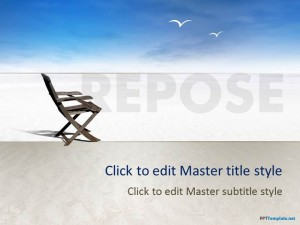 Free Leisure PPT Template