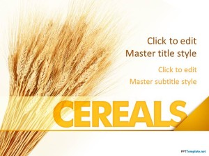Free Cereals PPT Template