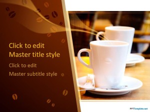 Free Coffee Time PPT Template