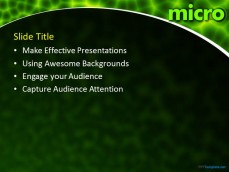 free microbiology ppt template, Powerpoint