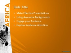 free africa ppt template, Templates