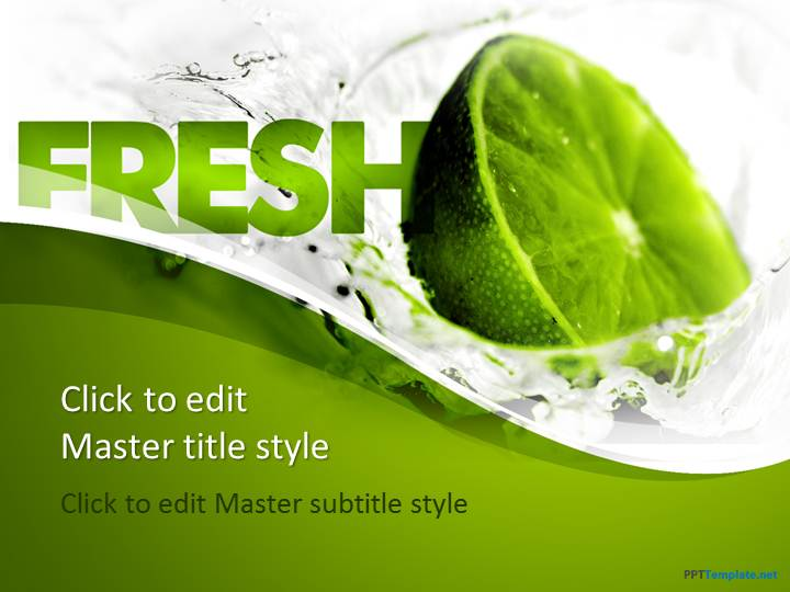 Free vegetable ppt templates ppt template free fresh lemon ppt template toneelgroepblik Choice Image