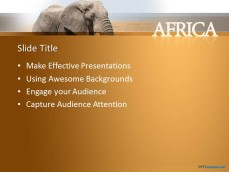 Photo collection free elephant powerpoint template elephant animation ppt for powerpoint templates ppt backgrounds toneelgroepblik Images
