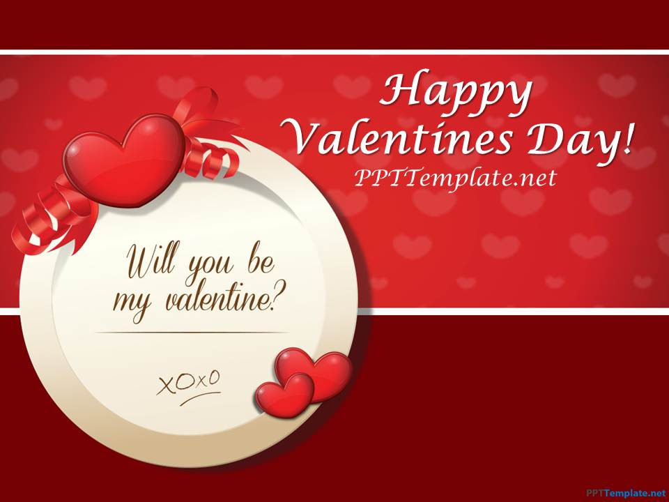 Free St. Valentine's Day PPT Template