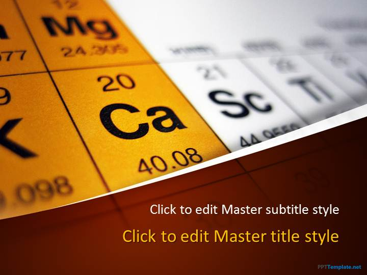 free periodic table ppt template, Powerpoint