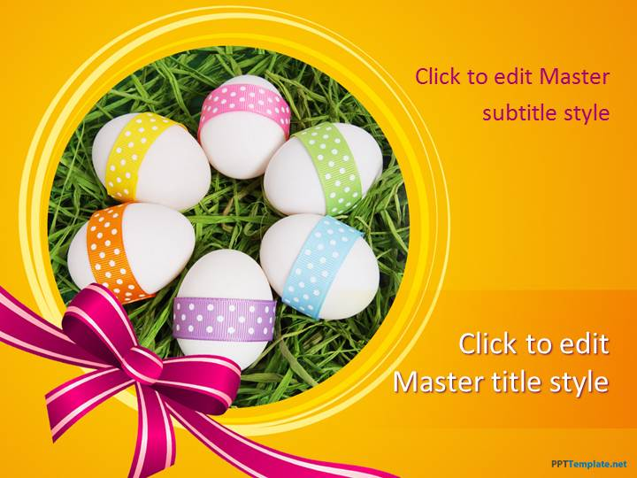 Free Easter Ppt Template