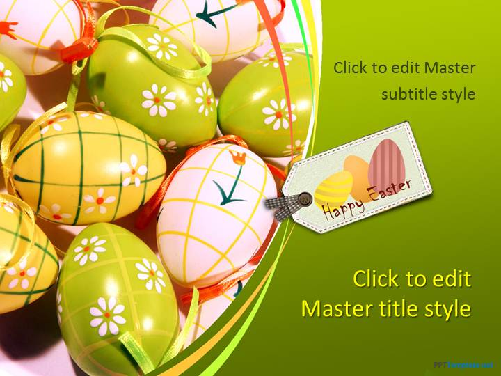 Free Easter Celebration Ppt Template
