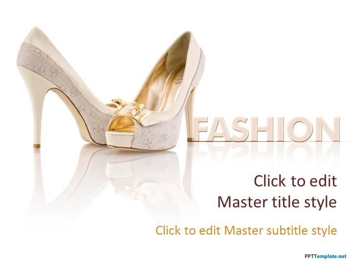 free fashion ppt template, Powerpoint
