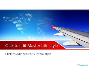 Free Plane PPT Template