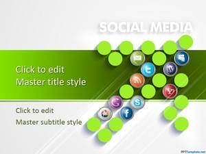 Free Social Media & Digital Marketing PPT Template