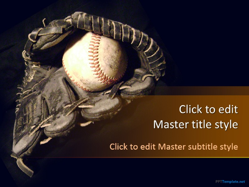 Free Baseball Ppt Template