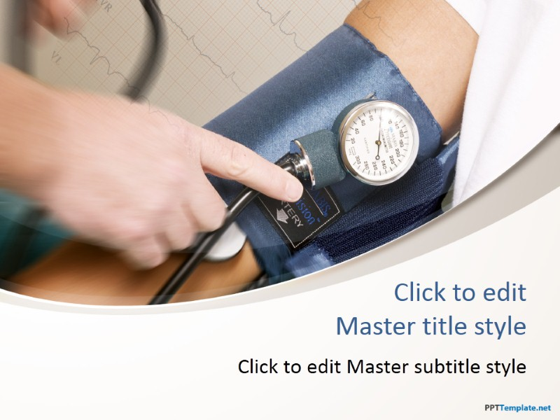 Free Blood Pressure Ppt Template