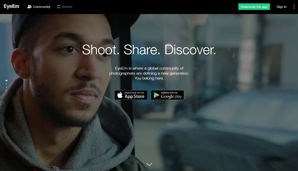 Share and Sell Photography with The EyeEm App 1