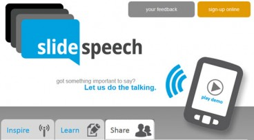 SlideSpeech App Adds Your Voice To Presentations