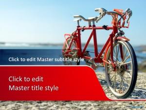 Free Bike PPT Template