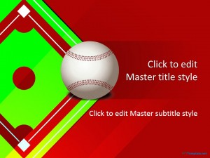 Free Baseball Grand Slam PPT Template