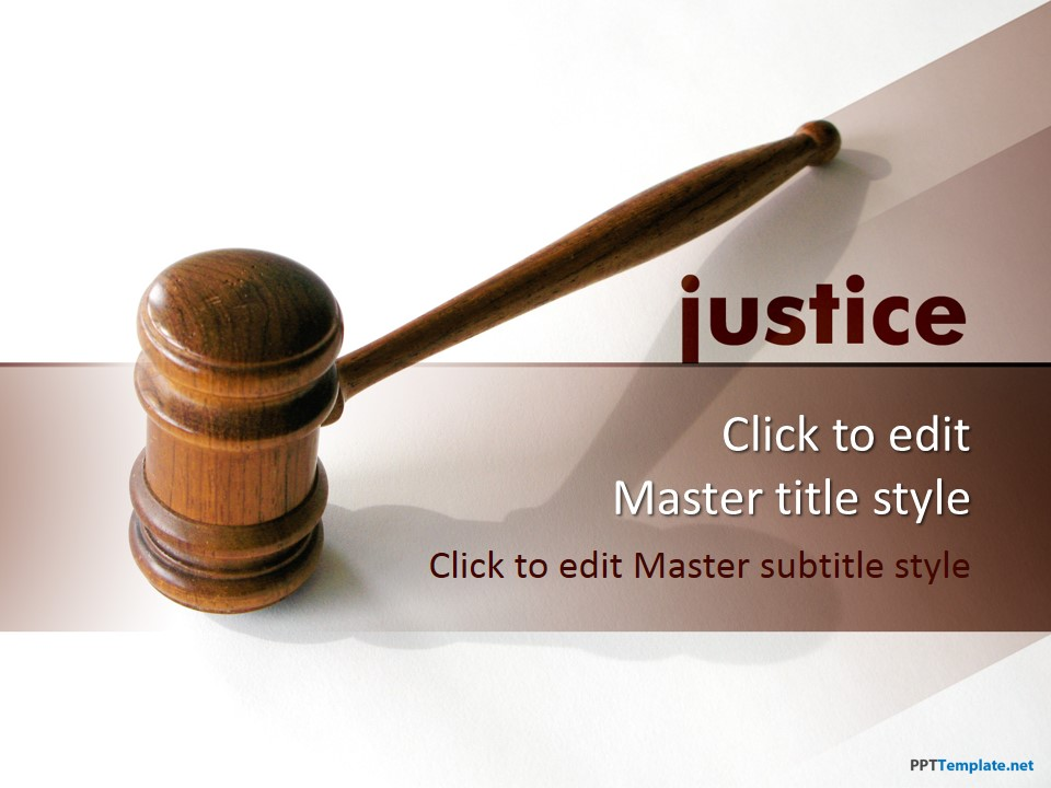 Free Law PPT Templates - PPT Template