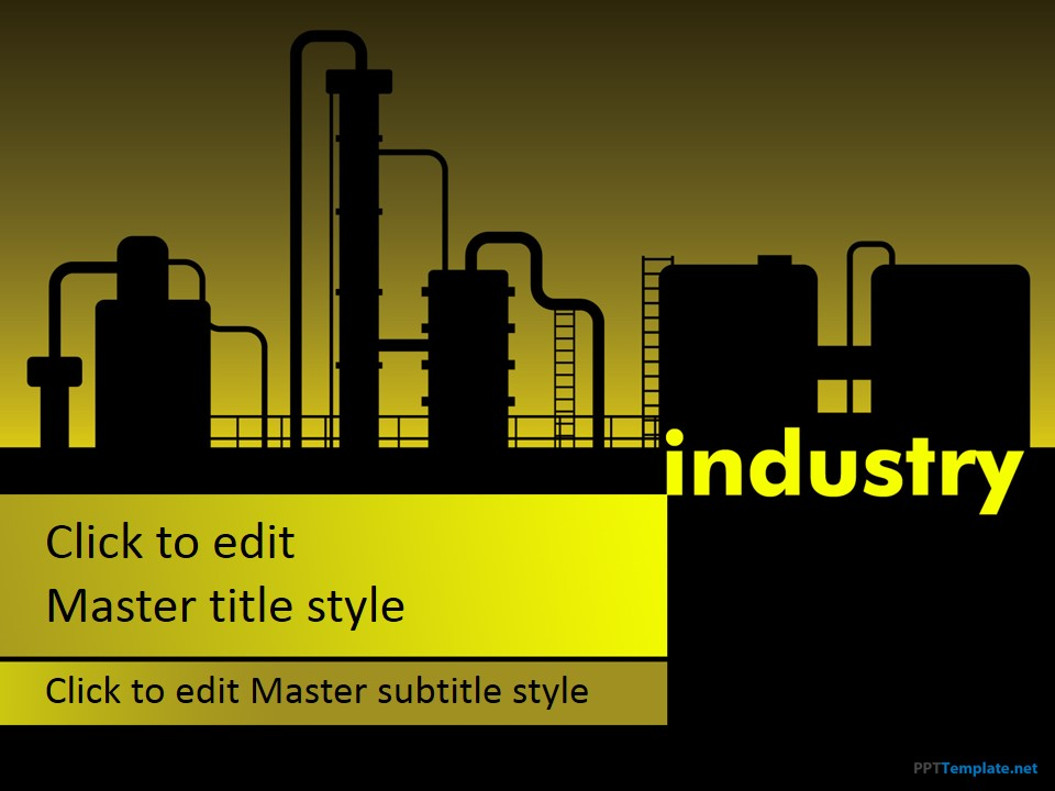 Free Manufacturing Industry Ppt Template