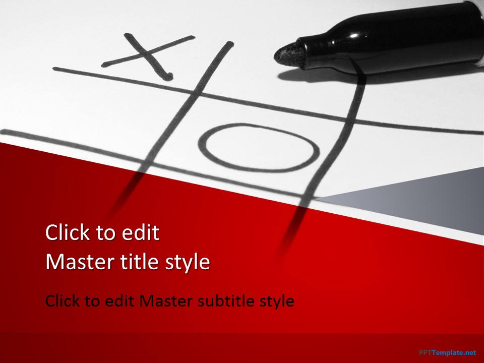 Free Tic Tac Toe Powerpoint Template