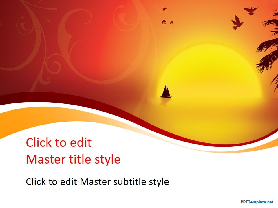 Free Nature PowerPoint Templates At PPT Template