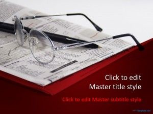Free Financial News PPT Template